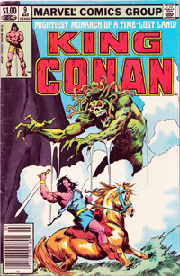 King Conan (Marvel) #09