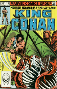 King Conan (Marvel) #13