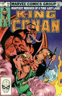 King Conan (Marvel) #14