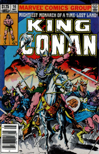 King Conan (Marvel) #16