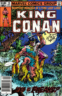 King Conan (Marvel) #18