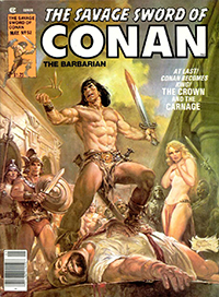 The Savage Sword of Conan the Barbarian (Marvel) #052