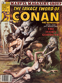 The Savage Sword of Conan the Barbarian (Marvel) #060