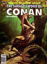 The Savage Sword of Conan the Barbarian (Marvel) #073
