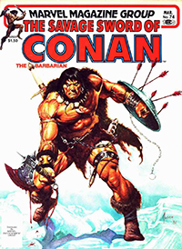 The Savage Sword of Conan the Barbarian (Marvel) #074