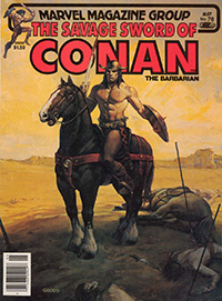 The Savage Sword of Conan the Barbarian (Marvel) #076