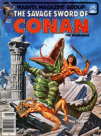 The Savage Sword of Conan the Barbarian (Marvel) #077