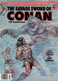 The Savage Sword of Conan the Barbarian (Marvel) #078