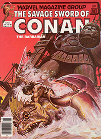 The Savage Sword of Conan the Barbarian (Marvel) #080