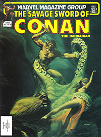 The Savage Sword of Conan the Barbarian (Marvel) #081