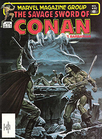 The Savage Sword of Conan the Barbarian (Marvel) #082
