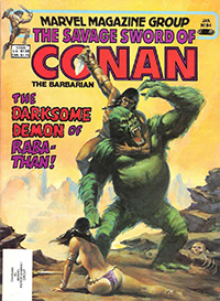 The Savage Sword of Conan the Barbarian (Marvel) #084