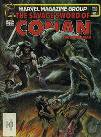 The Savage Sword of Conan the Barbarian (Marvel) #086