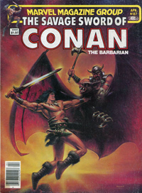 The Savage Sword of Conan the Barbarian (Marvel) #087
