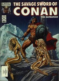 The Savage Sword of Conan the Barbarian (Marvel) #100
