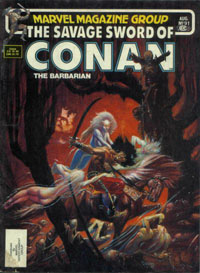 The Savage Sword of Conan the Barbarian (Marvel) #091