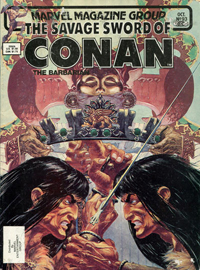 The Savage Sword of Conan the Barbarian (Marvel) #093