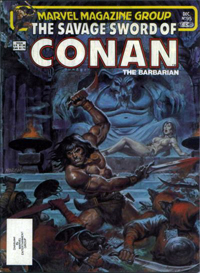 The Savage Sword of Conan the Barbarian (Marvel) #095