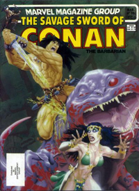 The Savage Sword of Conan the Barbarian (Marvel) #098