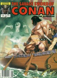 The Savage Sword of Conan the Barbarian (Marvel) #101