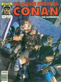 The Savage Sword of Conan the Barbarian (Marvel) #106