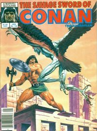 The Savage Sword of Conan the Barbarian (Marvel) #108