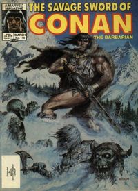 The Savage Sword of Conan the Barbarian (Marvel) #110
