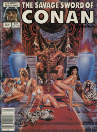 The Savage Sword of Conan the Barbarian (Marvel) #112