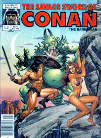 The Savage Sword of Conan the Barbarian (Marvel) #118