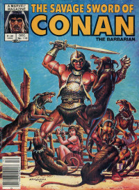 The Savage Sword of Conan the Barbarian (Marvel) #119