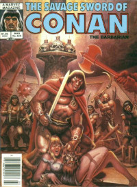 The Savage Sword of Conan the Barbarian (Marvel) #122