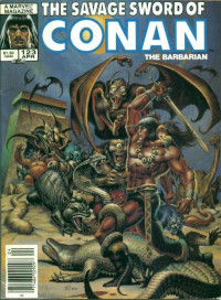 The Savage Sword of Conan the Barbarian (Marvel) #123