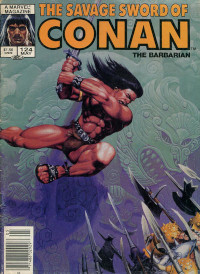 The Savage Sword of Conan the Barbarian (Marvel) #124