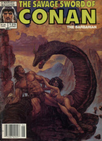 The Savage Sword of Conan the Barbarian (Marvel) #125