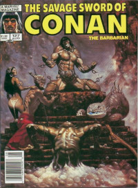 The Savage Sword of Conan the Barbarian (Marvel) #127