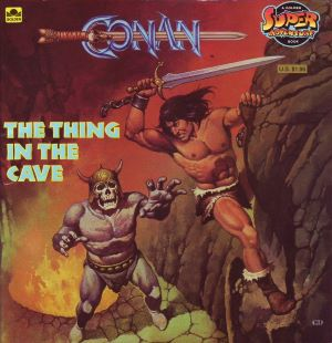 Conan. The Thing in the Cave (Golden Book)